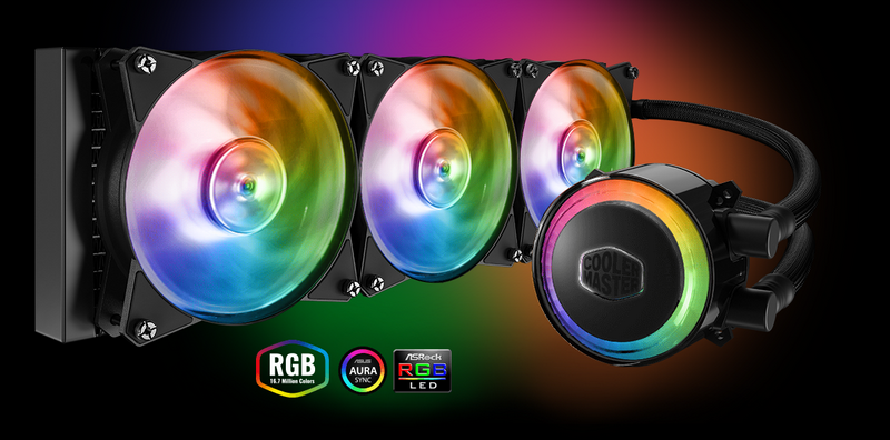 Cooler Master Announces Its First 360mm AIO Liquid CPU Cooler