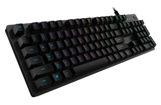 Logitech G Adds New Mechanical Gaming Keyboard and Key Switch