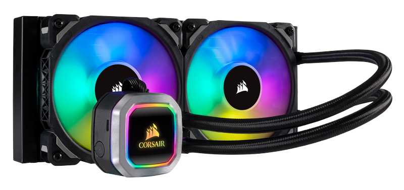 CORSAIR Launches New Hydro Series H100i and H115i RGB PLATINUM Liquid CPU Coolers