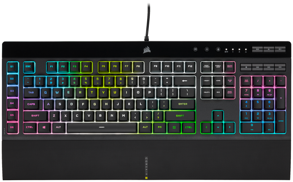CORSAIR Launches K55 RGB PRO and K55 RGB PRO XT Gaming Keyboards
